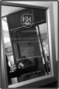 Western Cape Premier's Entrepreneurship Awards 2015 - Learning Lab Apps